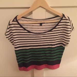 Striped crop top!